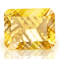 Yellow Citrine Superfine Cutting - 12.10 carats