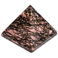 Rhodolite Pyramid - 173 gms