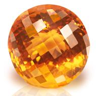 Yellow Citrine - 25.15 carats - Round
