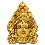 Divine Durga Maa Face