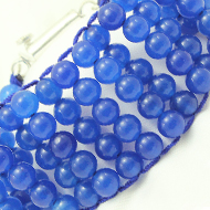 Blue Agate Multi Beads Bracelet