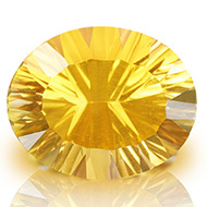 Yellow Citrine Superfine Cutting - 7 carats - Oval