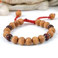 Red Sandal and White Sandal bracelet