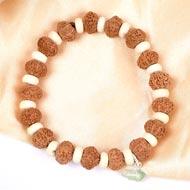 9 mukhi Durga bracelet from Java - Design I