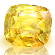 Yellow Sapphire - 6.71 carats