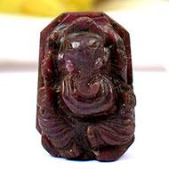 Ruby Ganesh - 43 carats