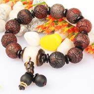 Natural Agate Gemstone Bracelet - Design V
