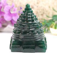 Green Jade Shree Yantra - 116 gms