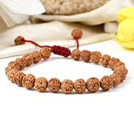 6 Mukhi Rudraksha Bracelet