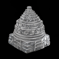 Shree Yantra in Sphatik - 78 gms