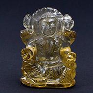 Lakshmi in Lemon Topaz - 245 carat
