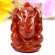 Red Jasper Ganesha-108 gms
