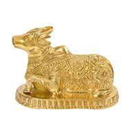 Nandi the Bull in Brass
