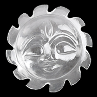 Surya Face in Crystal - 17 gms - I