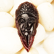 Kaali Face in Gomed - 38.15 Carats