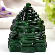 Green Jade Shree Yantra - 88 gms