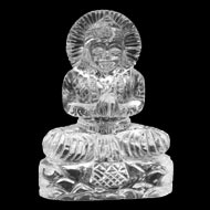 Sphatik Crystal Parvati - 77 gms