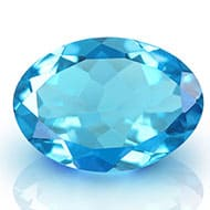 Blue Topaz - 5 to 6 carats - Oval