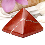 Pyramid in Red Jasper-Energy and strength-I