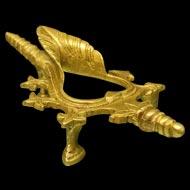 Brass Shankh Stand