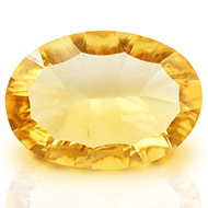 Yellow Citrine Superfine Cutting - 4.40 carats - Oval