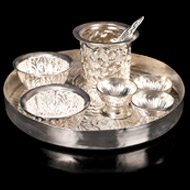 Prasad offerings - German Silver