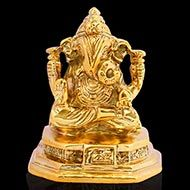 Dagdu Ganesh in Brass