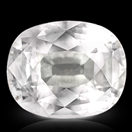 White Sapphire - 4.14 carats