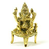 Muktidaya Ganesh in brass
