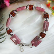 Rudraksha Opal Bracelet