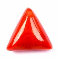 Italian Coral triangular - 7.25 carats