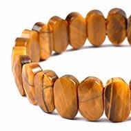 Tiger Eye Faceted Bracelet - III