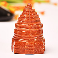 Shree Yantra in Sunstone - 30 gms