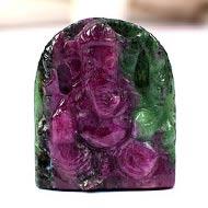 Ruby Ganesha - 34.35 carats