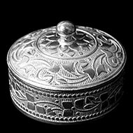 Pure Silver Container - II