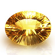 Yellow Citrine Superfine Cutting - 12.55 Carats