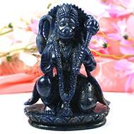 Hanuman in Blue Sodalite - 1125 gms