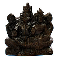 Laxmi Narasimha Shaligram Murti - VIII