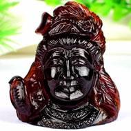 Shiva Idol in Gomed gesmtone