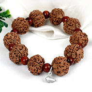 Guru Bracelet with Sandalwood beads