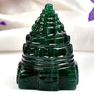 Green Jade Shree Yantra - 55 gms