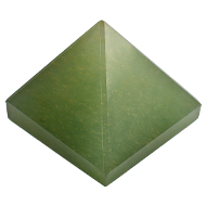 Pyramid in Green Jade - 110 gms