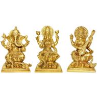 Laxmi Ganesh Saraswati Idol - CIII