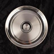 Puja Plate in Pure Silver