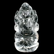 Sphatik Crystal Ganesha - 56 gms - I