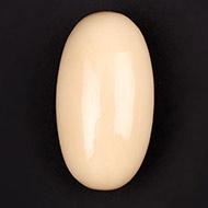 Ivory Yellow Jade Shivling - I