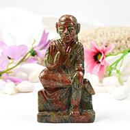 Sai Baba statue in Unakite-280 gms