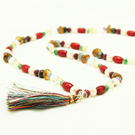 Navaratna mala in thread - I