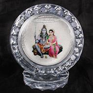 Shiva Shakti Silver frame