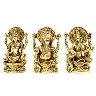 Laxmi Ganesh Saraswati Idol - CV